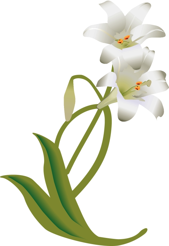 white-easter-lily-decoration