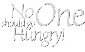no_one_should_go_hungry_food_drive_typography